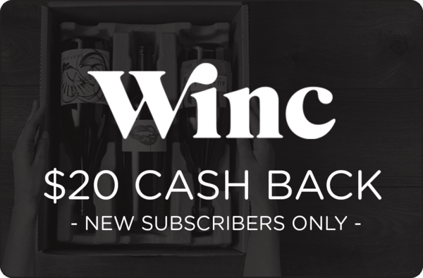 $20.00 for Winc (expiring on Tuesday, 04/30/2019). Offer available at Winc Wine Club.