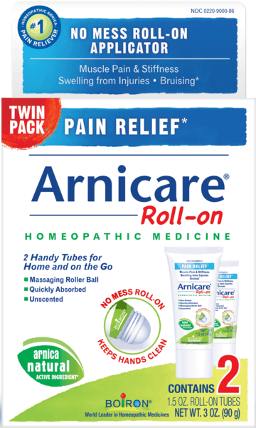 $3.00 for Arnicare® Roll-on Twin Pack (expiring on Thursday, 04/02/2020). Offer available at Walgreens, CVS Pharmacy, Rite Aid.