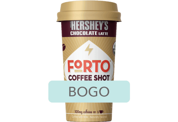 $1.98 for Forto® Coffee Shots. Offer available at Walmart.