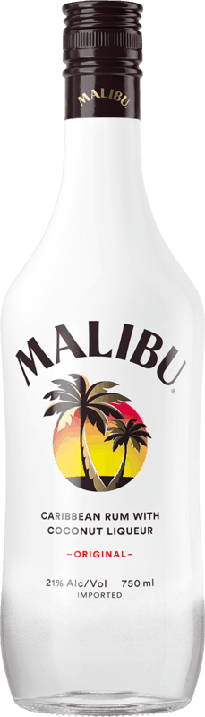 $2.00 for MALIBU Rum. Offer available at multiple stores.
