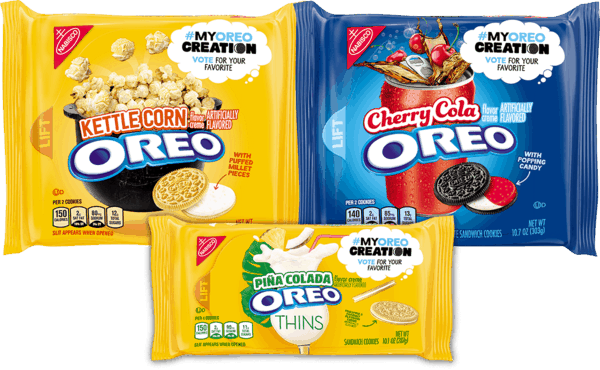 $3.00 for OREO Cookies. Offer available at multiple stores.