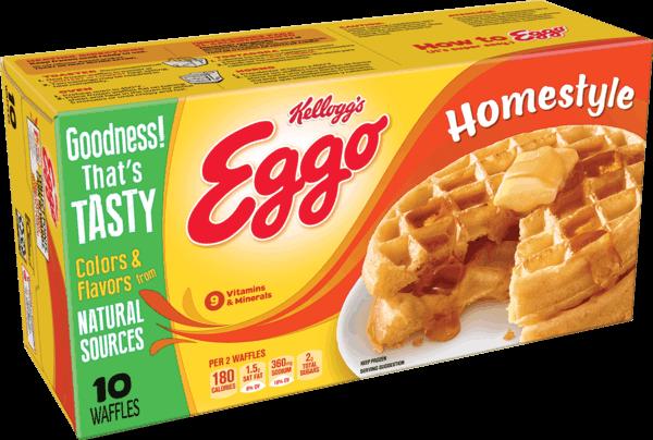 $0.50 for Eggo® Waffles (expiring on Sunday, 06/02/2019). Offer available at Walmart.