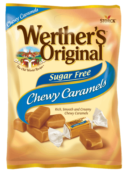 $0.75 for Werther's® Sugar Free (expiring on Monday, 04/15/2019). Offer available at multiple stores.