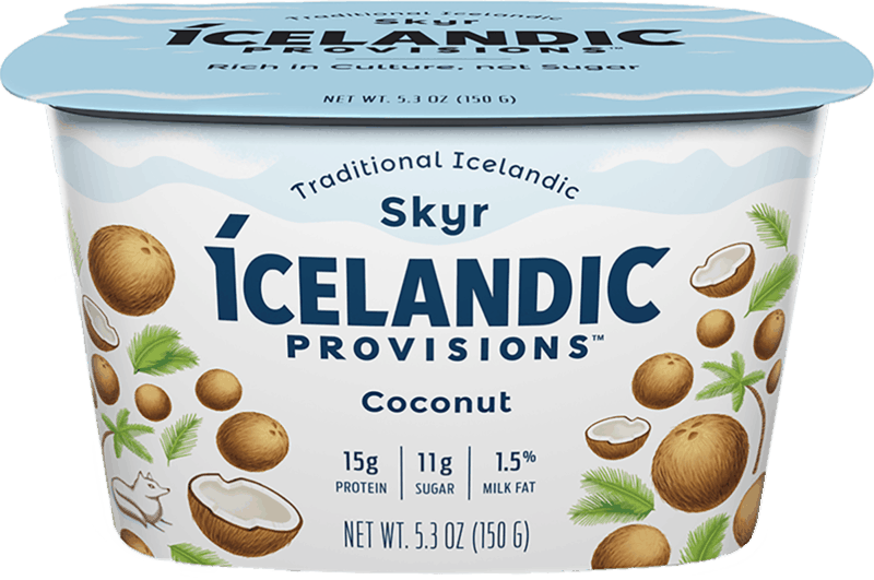 $0.50 for Icelandic Provisions™ Skyr (expiring on Saturday, 09/28/2019). Offer available at Wegmans.