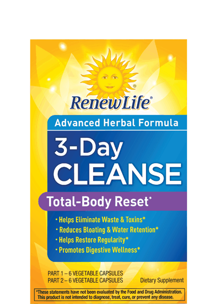 $2.50 for Renew Life® Total-Body Reset Cleanse. Offer available at Walmart.