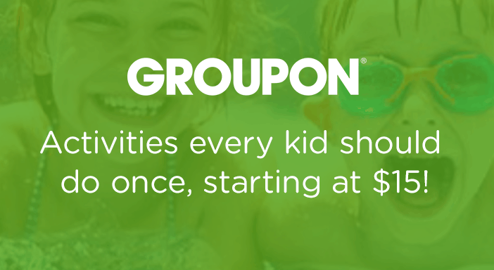 $0.00 for Groupon - Family Fun Activities (expiring on Monday, 03/01/2021). Offer available at Groupon.