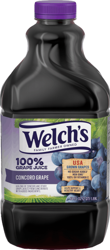$0.50 for Welch's 100% Grape Juice (expiring on Sunday, 06/14/2020). Offer available at multiple stores.