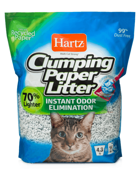 $1.50 for Hartz® Cat Litter (expiring on Saturday, 06/02/2018). Offer available at Walmart.