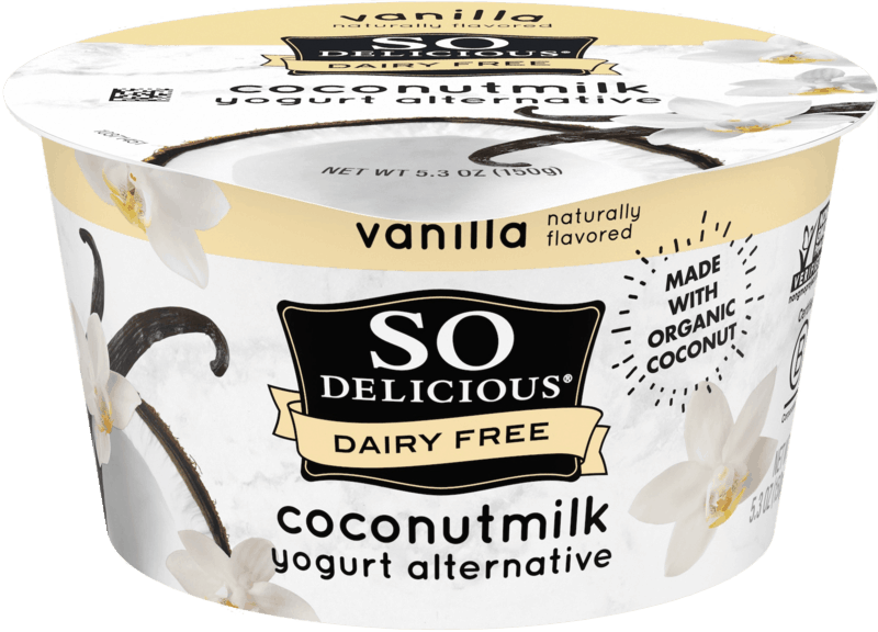 $0.50 for So Delicious Dairy Free Coconutmilk Yogurt Alternative (expiring on Monday, 02/10/2020). Offer available at multiple stores.