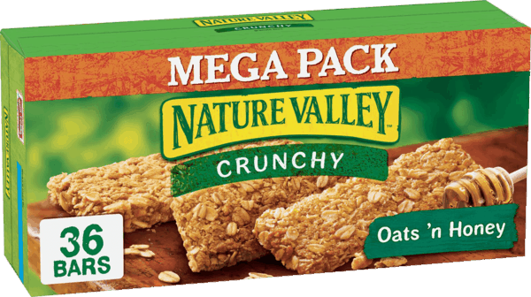 """photograph relating to Nature Valley Printable Coupons named $1.25 for Mother nature Valleyâ""""¢ Mega Pack Granola Bars. Deliver"""