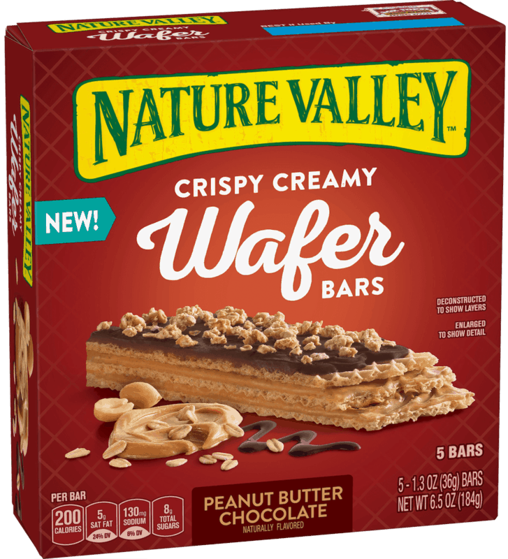 $0.50 for Nature Valley™ Wafer Bars (expiring on Saturday, 02/01/2020). Offer available at Walmart.