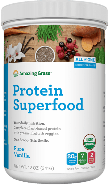 $5.00 for Amazing Grass® Protein Superfood™. Offer available at multiple stores.