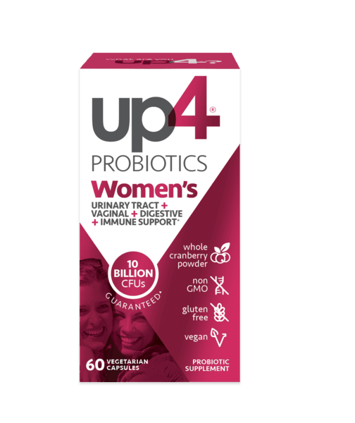 $4.00 for up4® Women's Probiotics (expiring on Monday, 12/02/2019). Offer available at multiple stores.