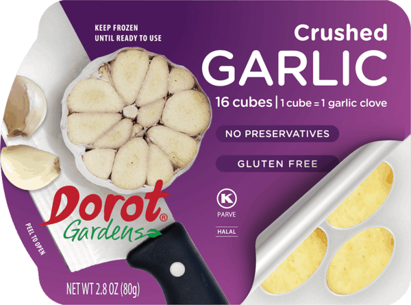 $0.75 for Dorot® Gardens Garlic & Herbs (expiring on Monday, 03/02/2020). Offer available at multiple stores.