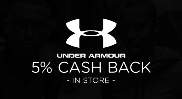 $0.00 for Under Armour (expiring on Tuesday, 03/31/2020). Offer available at Under Armour.