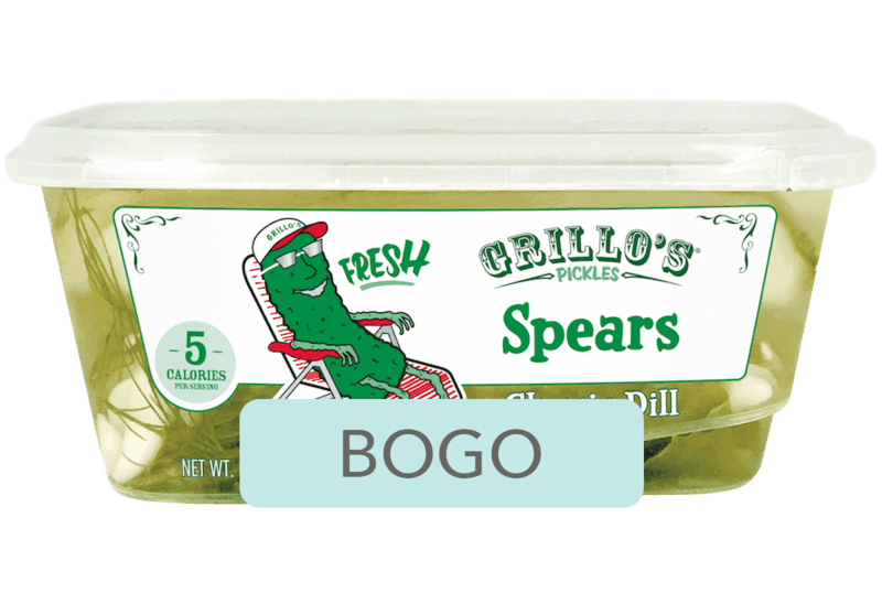 $4.78 for Grillo's Pickles. Offer available at Walmart.