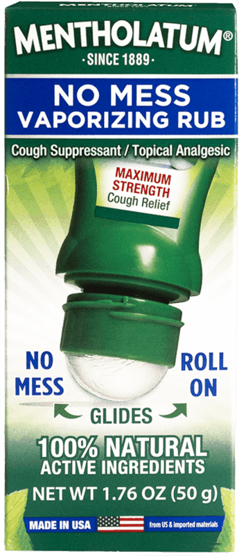 $1.00 for Mentholatum No Mess Vaporizing Chest Rub Max Strength (expiring on Sunday, 03/01/2020). Offer available at multiple stores.