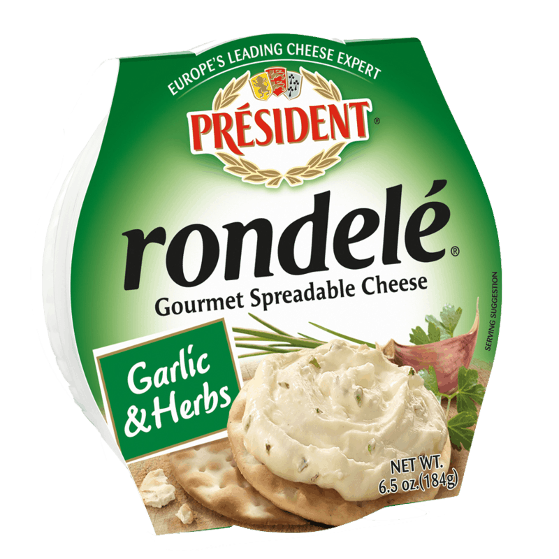 $2.00 for Rondelé® Gourmet Spreadable Cheese (expiring on Sunday, 10/31/2021). Offer available at multiple stores.