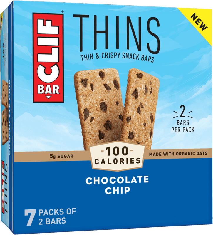 $0.75 for CLIF BAR® Thins (expiring on Sunday, 08/22/2021). Offer available at Walmart, Walmart Pickup & Delivery.