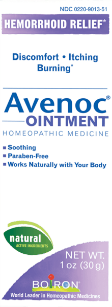 $1.00 for Boiron® Avenoc® Ointment (expiring on Wednesday, 08/31/2022). Offer available at Whole Foods Market®, Sprouts Farmers Market.