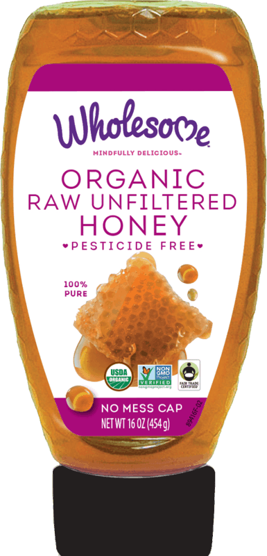 $1.00 for Wholesome Organic Honey (expiring on Monday, 08/03/2020). Offer available at multiple stores.