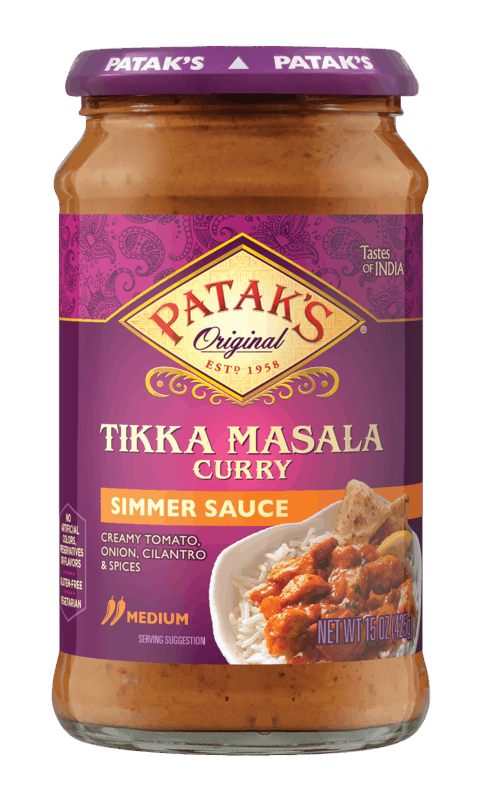 $0.55 for Patak's® Indian Simmer Sauces & Chutney (expiring on Tuesday, 03/31/2020). Offer available at Walmart.