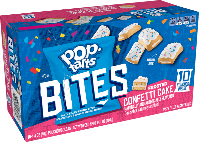 $1.00 for Pop-Tarts Bites (expiring on Saturday, 02/27/2021). Offer available at Walmart, Walmart Pickup & Delivery.