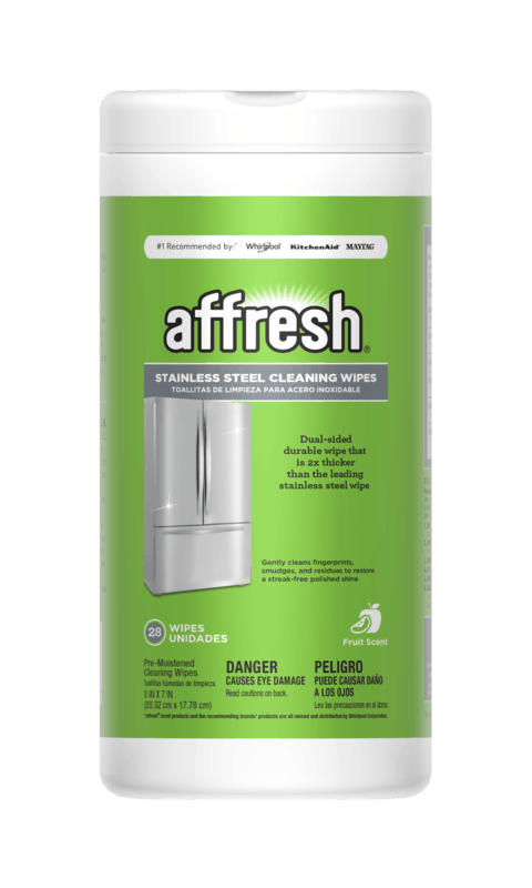 $1.00 for affresh® Stainless Steel Cleaning Wipes (expiring on Wednesday, 10/02/2019). Offer available at Home Depot.