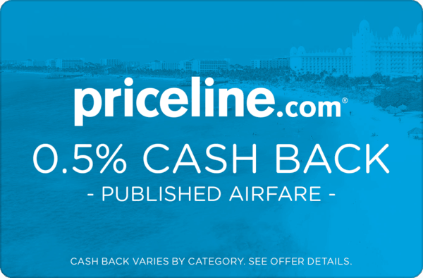 $0.00 for Priceline Published Airfare (expiring on Monday, 03/19/2018). Offer available at Priceline.