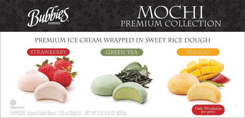 $1.50 for Bubbies Mochi Ice Cream Pack (expiring on Sunday, 07/26/2020). Offer available at Costco.