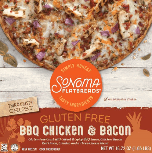 $1.00 for Sonoma Flatbreads® Frozen Pizza (expiring on Tuesday, 04/04/2017). Offer available at multiple stores.