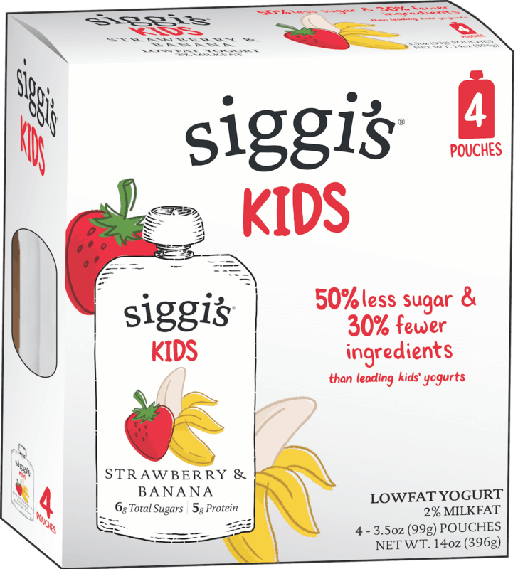 $1.00 for siggi's Kids Yogurt Pouches (expiring on Sunday, 08/02/2020). Offer available at Publix, Meijer, Harris Teeter, Wegmans, Big Y Foods.