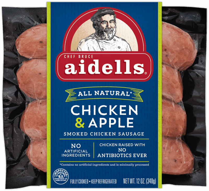 $0.50 for Aidells® Sausage (expiring on Thursday, 01/02/2020). Offer available at Walmart.