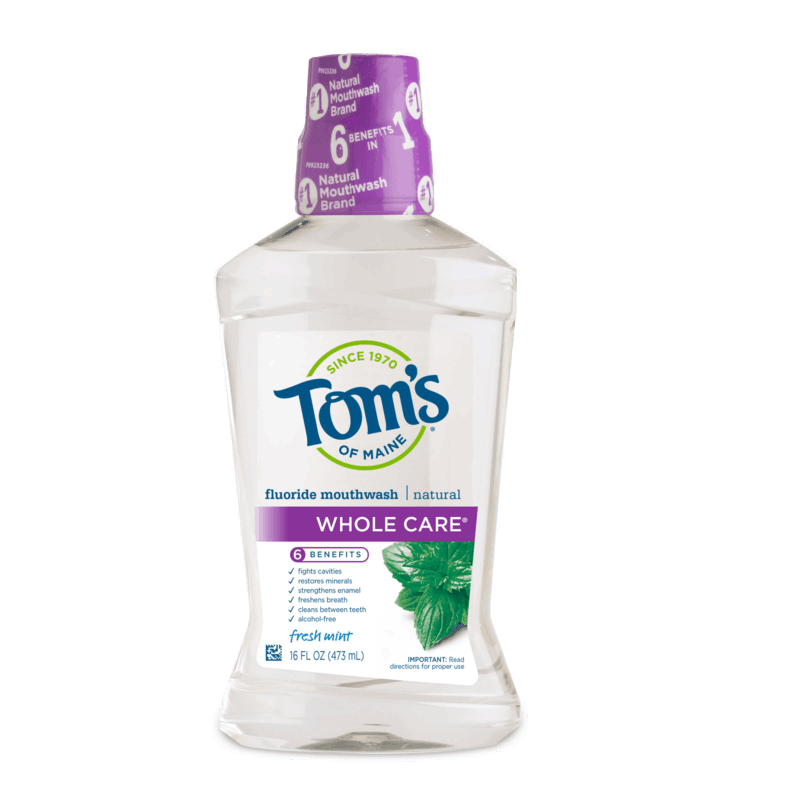 $1.00 for Tom's of Maine® Mouth Wash (expiring on Sunday, 01/31/2021). Offer available at multiple stores.