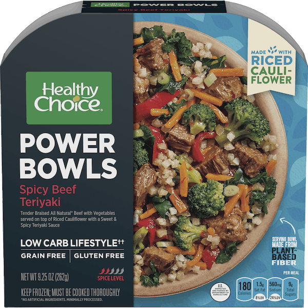 $0.50 for Healthy Choice Power Bowls (expiring on Saturday, 02/01/2020). Offer available at multiple stores.