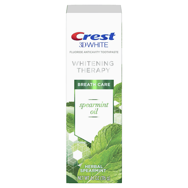 $0.25 for Crest® 3D White™ Whitening Therapy Toothpaste (expiring on Wednesday, 10/02/2019). Offer available at multiple stores.