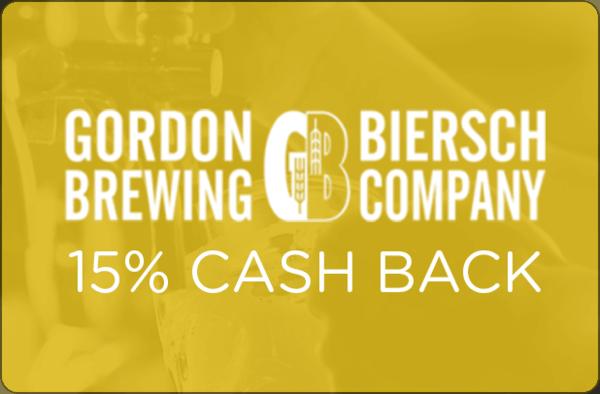 $0.00 for Gordon Biersch (expiring on Wednesday, 10/31/2018). Offer available at Gordon Biersch.