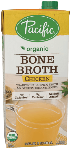 $1.00 for Pacific Foods™ Bone Broth (expiring on Tuesday, 07/31/2018). Offer available at multiple stores.