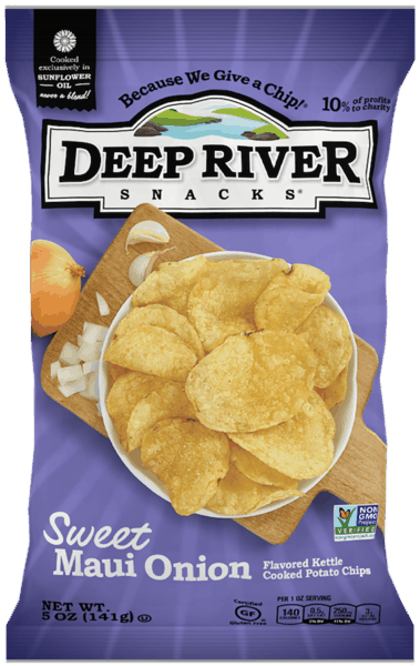 $0.75 for Deep River Snacks® Kettle Chips (expiring on Saturday, 03/02/2019). Offer available at multiple stores.