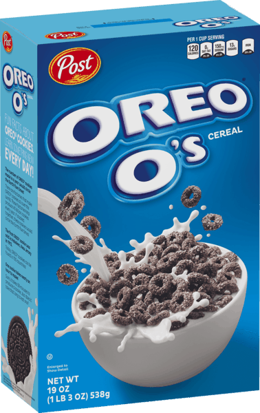 $0.30 for OREO O's™ Cereal. Offer available at Walmart.