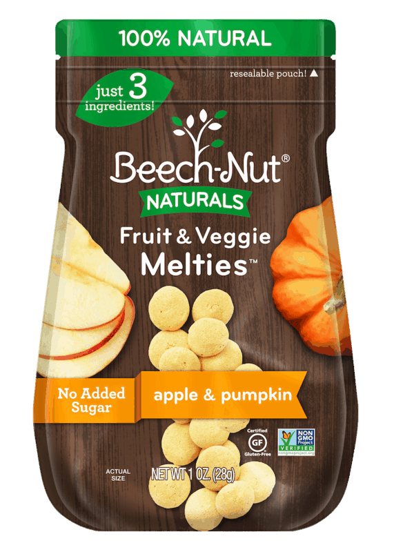 $0.50 for Beech-Nut Naturals Melties. Offer available at Walmart, Kroger, Walmart Grocery.