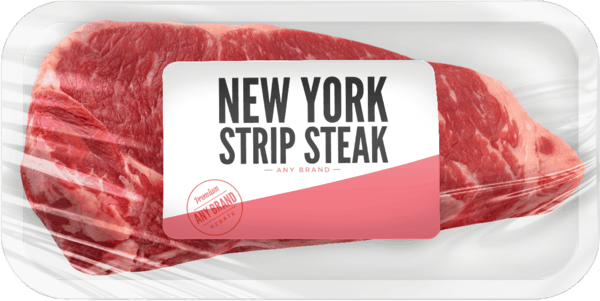 $2.50 for New York Strip Steak - Any Brand. Offer available at multiple stores.