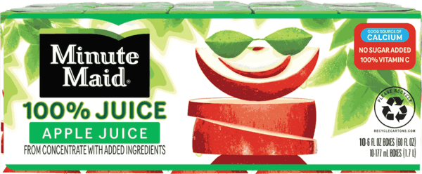$0.50 for Minute Maid® 100% Juice Box (expiring on Wednesday, 01/02/2019). Offer available at multiple stores.
