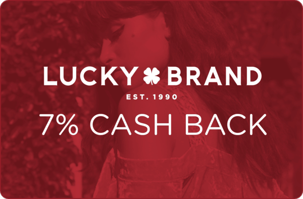 $0.00 for Lucky Brand (expiring on Thursday, 03/01/2018). Offer available at LuckyBrand.com.