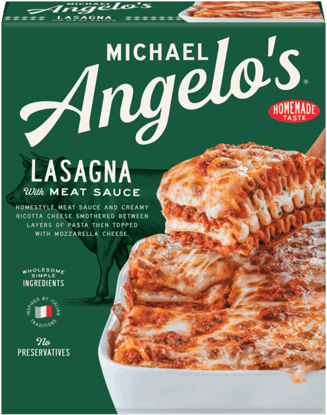 $1.00 for Michael Angelo's® Family Size Frozen Entrees. Offer available at multiple stores.