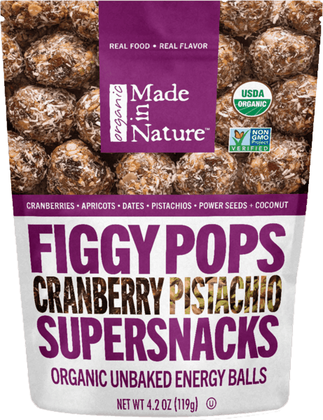 $1.00 for Made In Nature™ Supersnacks (expiring on Sunday, 09/02/2018). Offer available at Walmart.