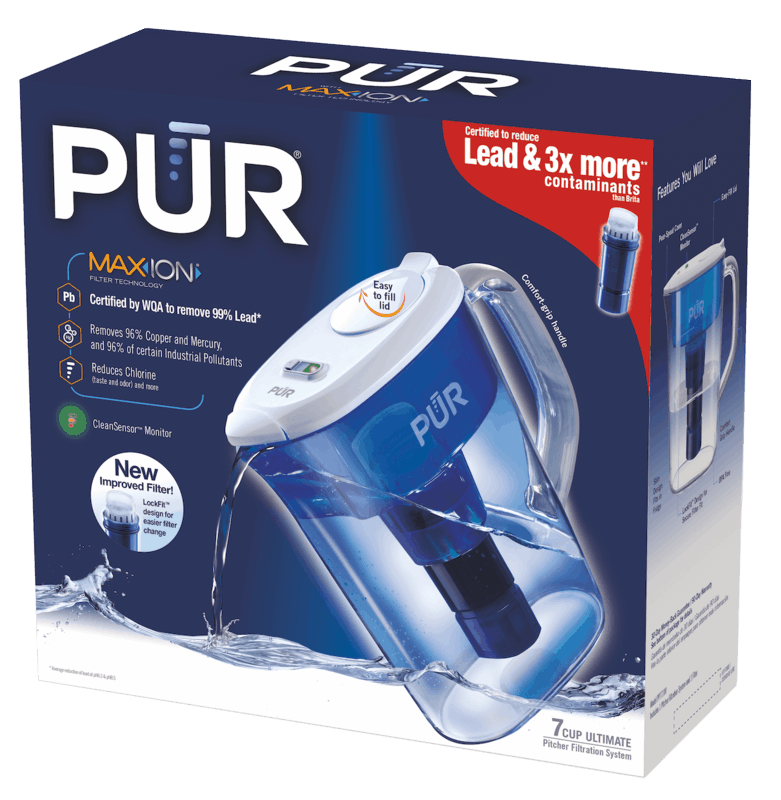 $3.00 for PUR® Pitcher Filtration System. Offer available at multiple stores.