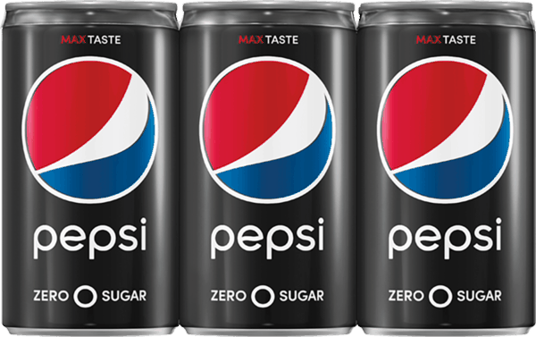 $0.75 for Pepsi Zero Sugar® Mini Cans. Offer available at multiple stores.