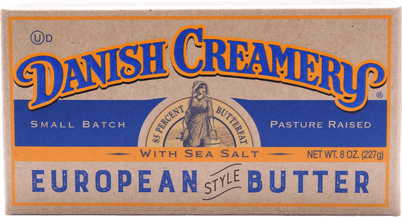 $0.50 for Danish Creamery Salted or Unsalted European Style Butter (expiring on Friday, 04/30/2021). Offer available at multiple stores.