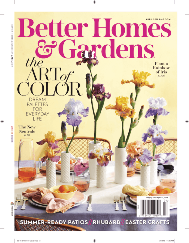 $1.00 for Better Homes and Gardens Magazine (expiring on Wednesday, 10/02/2019). Offer available at Walmart.